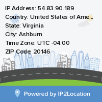 IP2Location Free Widget